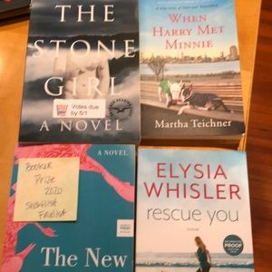 Four Fall Reads/Books